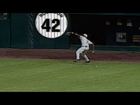 Jose Guillen's Mutant Throw From The Warning Track