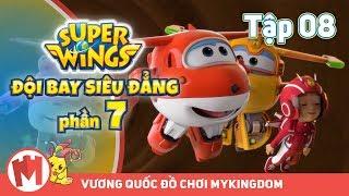 ĐỘI BAY SIÊU ĐẲNG - Phần 7   Tập 08: Giải Cứu Tổ Ong - Phim hoạt hình SuperWings