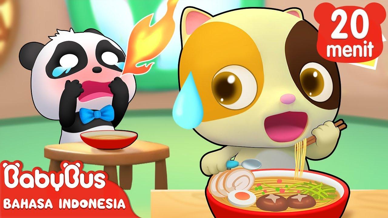 Aapakah Kamu Suka Makan Mie? Ayo Coba Ke Rumah Mie Rudolph! | Lagu Anak | BabyBus Bahasa Indonesia
