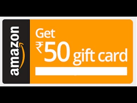Get Unlimited 50rs Amazon Gift Card