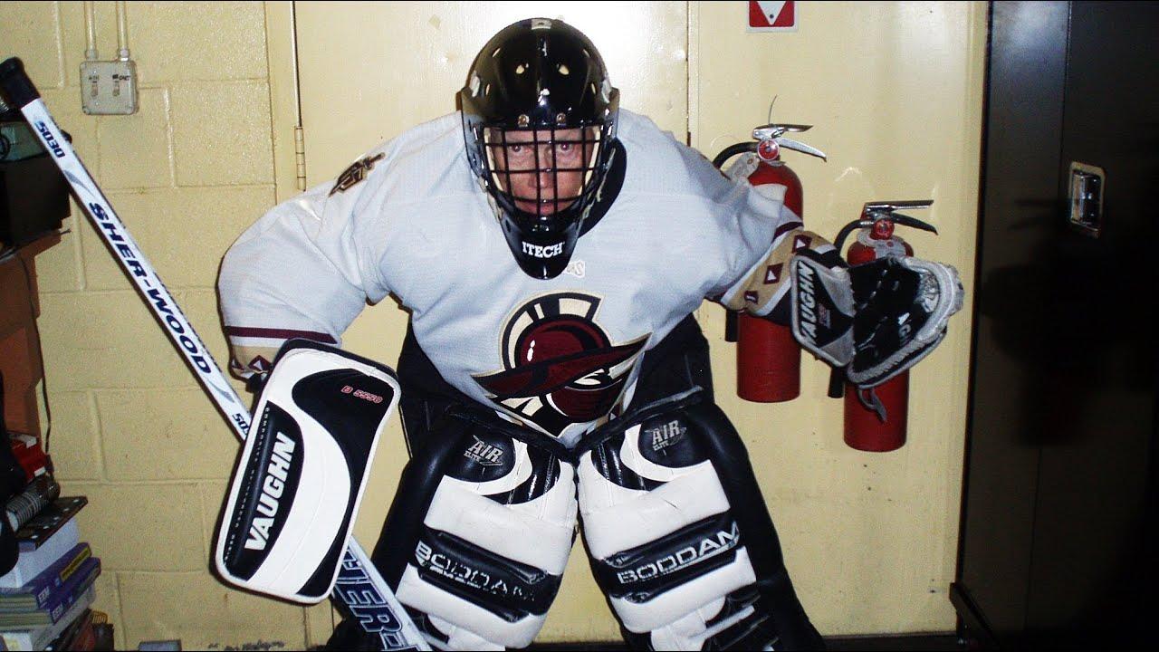Ice Hockey Goalie Helmet Mask Cam Camera 10 1 2012 Youtube