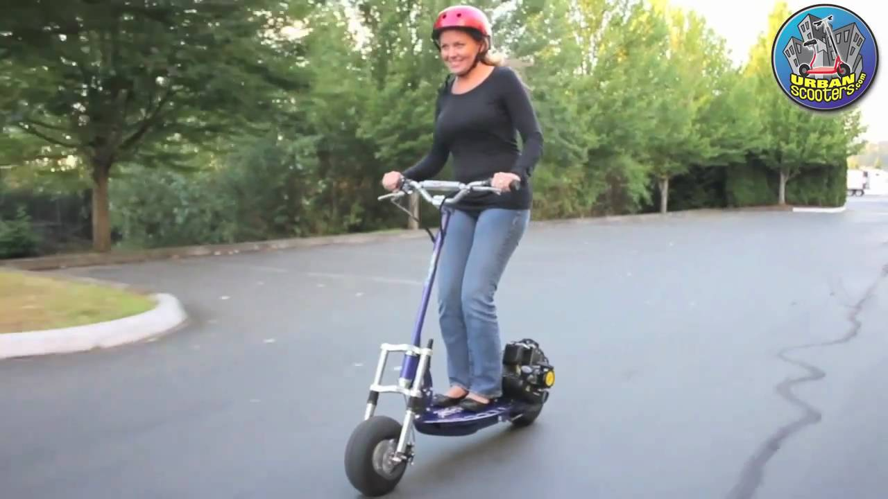 X Treme Xg550 Gas Powered Scooter Youtube
