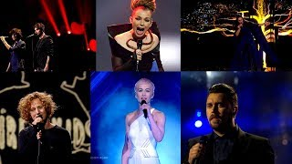My Top 60 Eurovision Emotive Performances (2000 - 2018)