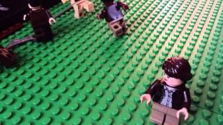 Lego Hunger Games:cornucopia bloodbath scene