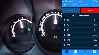 Lada Xray 1.8 AМТ - разгон до 100 км/ч в ручном режиме