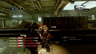 Gears of War 3   FUNNY MOMENTS With Hate Message and More!