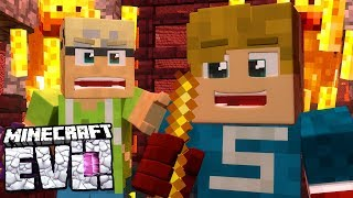 HE LEFT WITH THE LOOT!! - Minecraft Evolution SMP #51