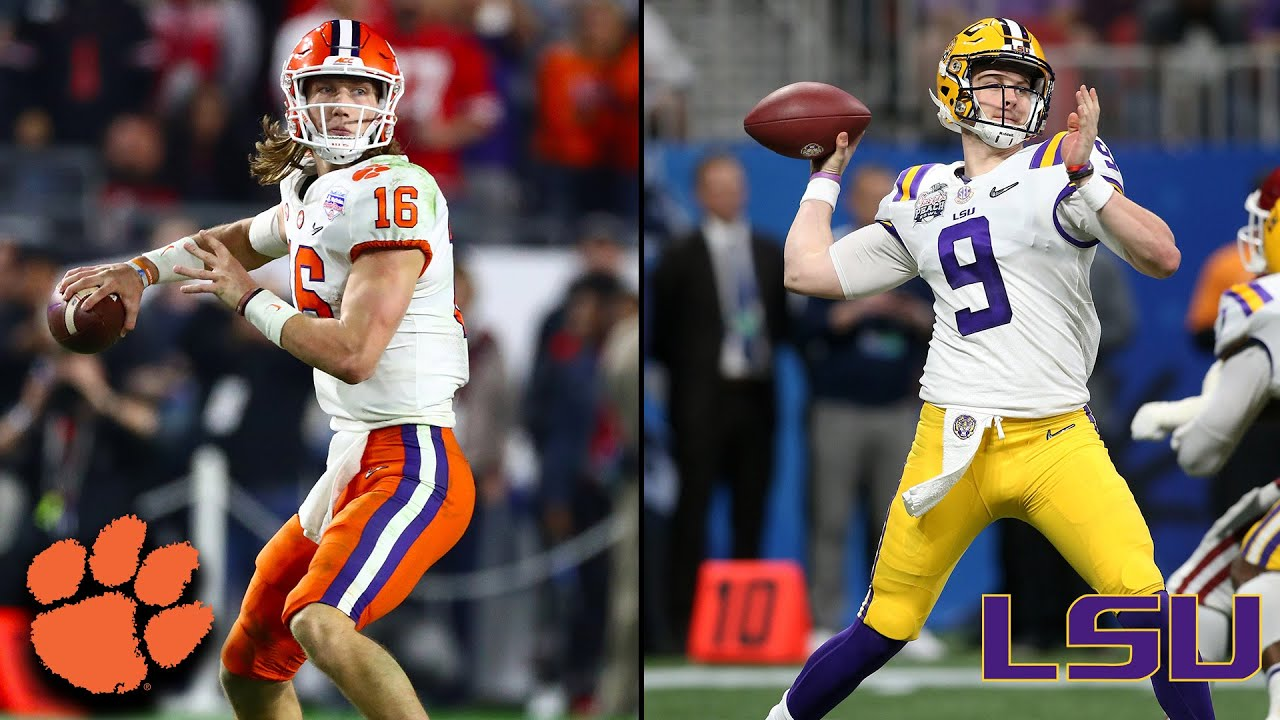 Clemson Vs Lsu 2019 National Championship Game Preview