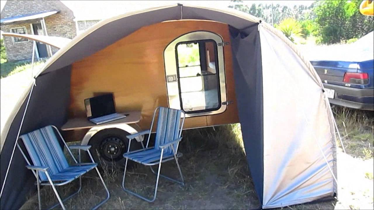 Casa Rodante Teardrop Trailer Minicamper Youtube