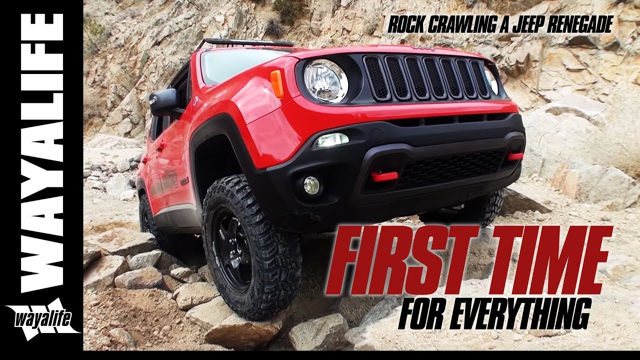 Daystar Renegade Lift >> FIRST TIME : Lifted Jeep Renegade Trailhawk & Stock JK ...