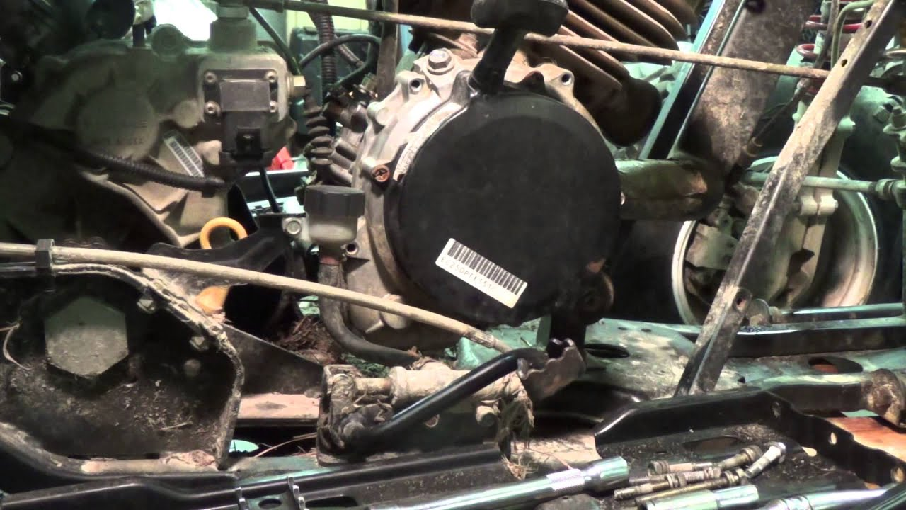 Polaris Trailblazer 250 Starter Removal Youtube
