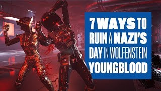 New Wolfenstein Youngblood Gameplay - 7 Times The Blazkowicz Twins Ruined The Nazi's Day