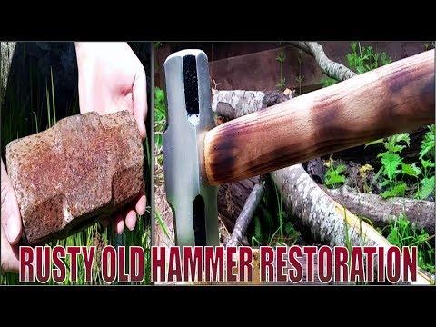 Rusty Old Hammer Restoration
