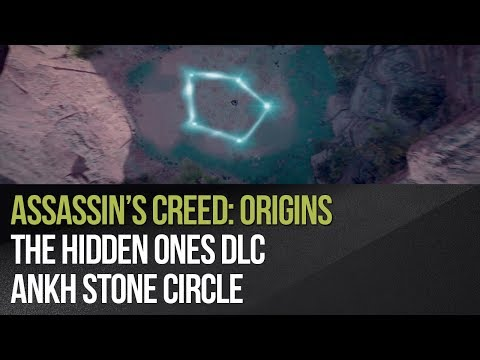 Assassin's Creed: Origins - The Hidden Ones DLC - Ankh Stone Circle
