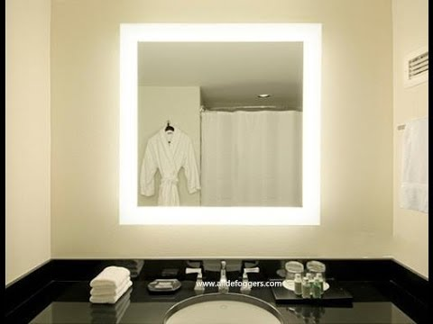 Wall mounted makeup mirror with lights youtube wall mounted makeup mirror with lights aloadofball Images