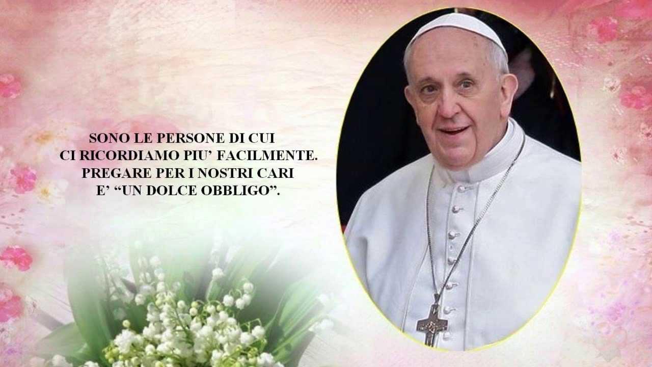 Eccezionale Preghiera di Papa Francesco ♥ - YouTube YK63