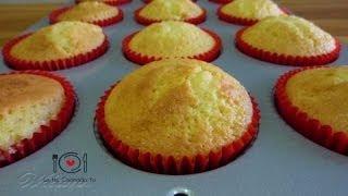 Cómo hacer Bizcocho para Cupcakes (Receta Fácil) | LHCY
