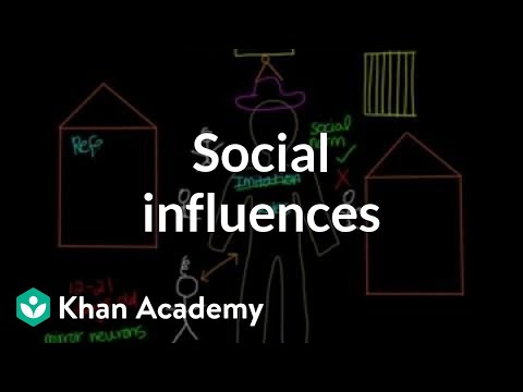Social influences | Individuals and Society | MCAT | Khan Academy