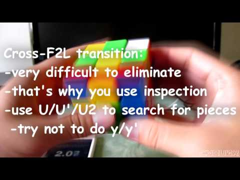 Why You're Not Sub-15 With Fridrich (CFOP)