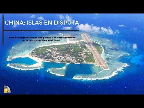 China a terminado sus bases militares,  islas Spratly , isla Woody, islas Paracel