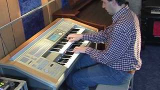 If you leave me now (Chicago) -  Yamaha Electone Stagea ELS-01C Organ Mladosevits