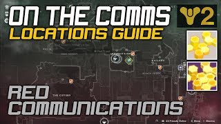 Destiny 2 On the Comms Location Guide x4 Red Legion Communication locations