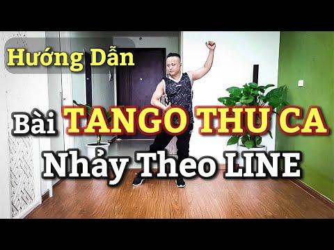 Hướng Dẫn Chậm Bài TANGO THU CA Nhảy Theo LINE / Leo( Bài Khớp Nhạc BẤM ?
