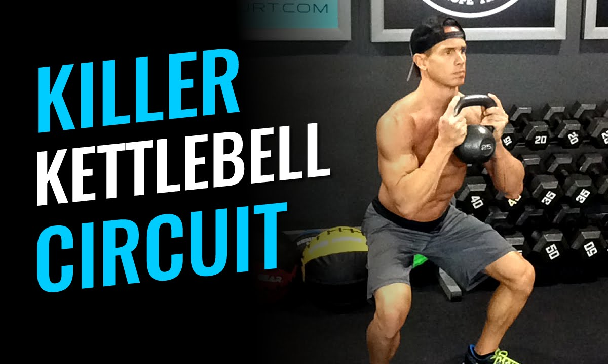 Kettlebell Bodybuilding Killer Kettlebell Circuit Workout Of The Day