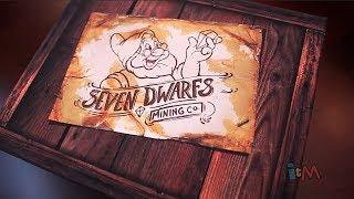 Seven Dwarfs Mine Train preview invitation unboxing from Walt Disney World