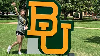 Baylor university tour// sarahbeth gets recognized??? -