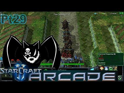 "StarCraft 2 Arcade Pt29 ""Squadron Tower Defense Supershow"""