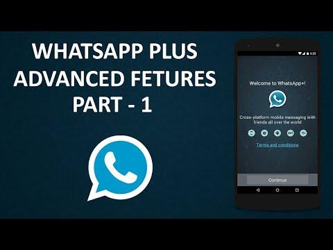 WhatsApp Plus Hidden Features Part-1 || व्हाट्सएप्प  प्लस के छुपे रहस्य और फीचर्स पार्ट-१ ||