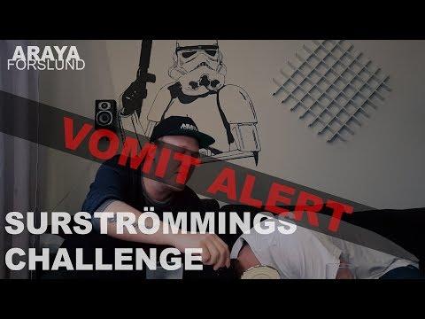Surströmmings Challenge *Vomit Alert*