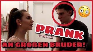 HUND ÜBERFAHREN OHNE FÜHRERSCHEIN! - PRANK AN GROßEN BRUDER! FAKE!!! | Einfach Marci