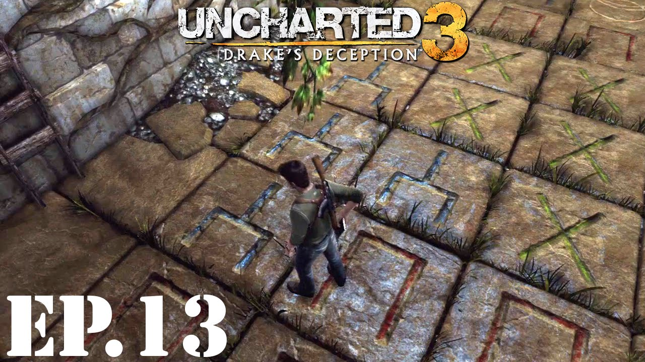 Uncharted 3 Drakes Deception Lets Play Part 13 Floor Tile