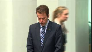 Dan Tehan - Intelligence & Security Committee Report on National Security Bill No.1 (22nd Sept 2014)