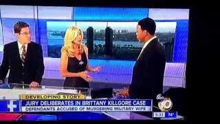Brian Watkins talks to ABC News San Diego regarding the Brittany Killgore case