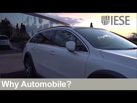 Why Automobile? 29th Automotive Industry Meeting