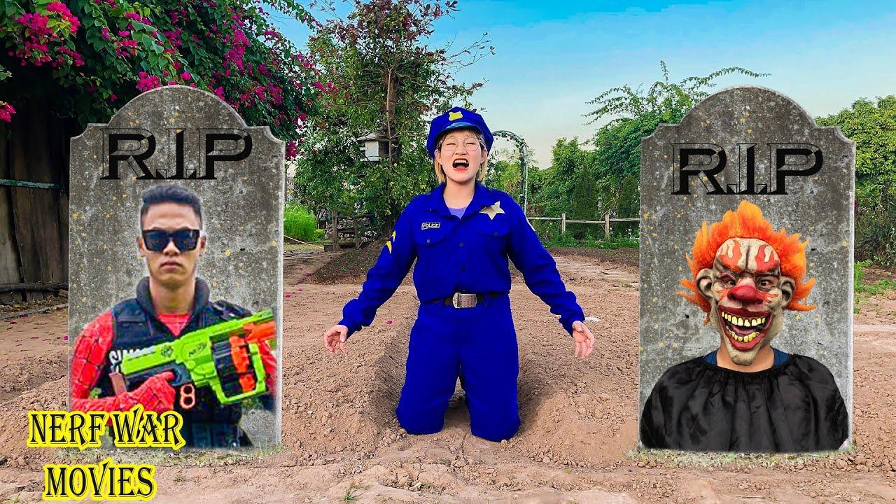 Nerf War Movies: Police X Warriors Nerf Guns Fight Criminal Group Revenge For BoyFriend