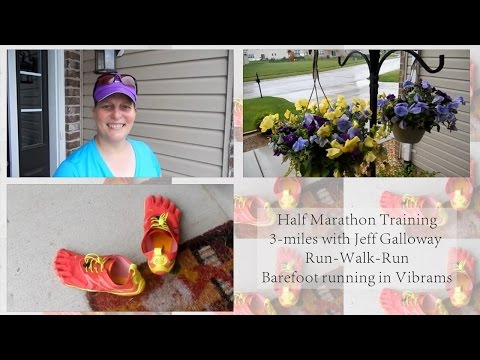Half Marathon Training 3-Miles Using Jeff Galloway Run-Walk-Run