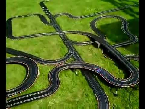 Spiderman Car @ Carrera Go !!! Open Air Track 60m  Youtube