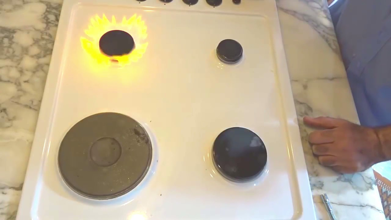 تبديل شمعة الفرن البوتاجاز في دقيقة - comment changer les gicleur de plaque gaz.  cuisinière