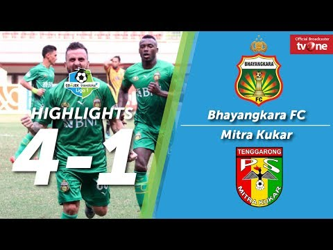 Bhayangkara FC vs Mitra Kukar: 4-1 All Goals & Highlights