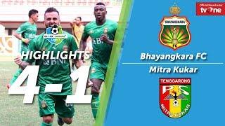 Bhayangkara FC vs Mitra Kukar: 4-1 All Goals & Highlights