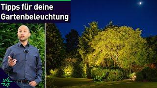 Tipps für deine Gartenbeleuchtung - Stimmungsvolles Licht rund ums Haus