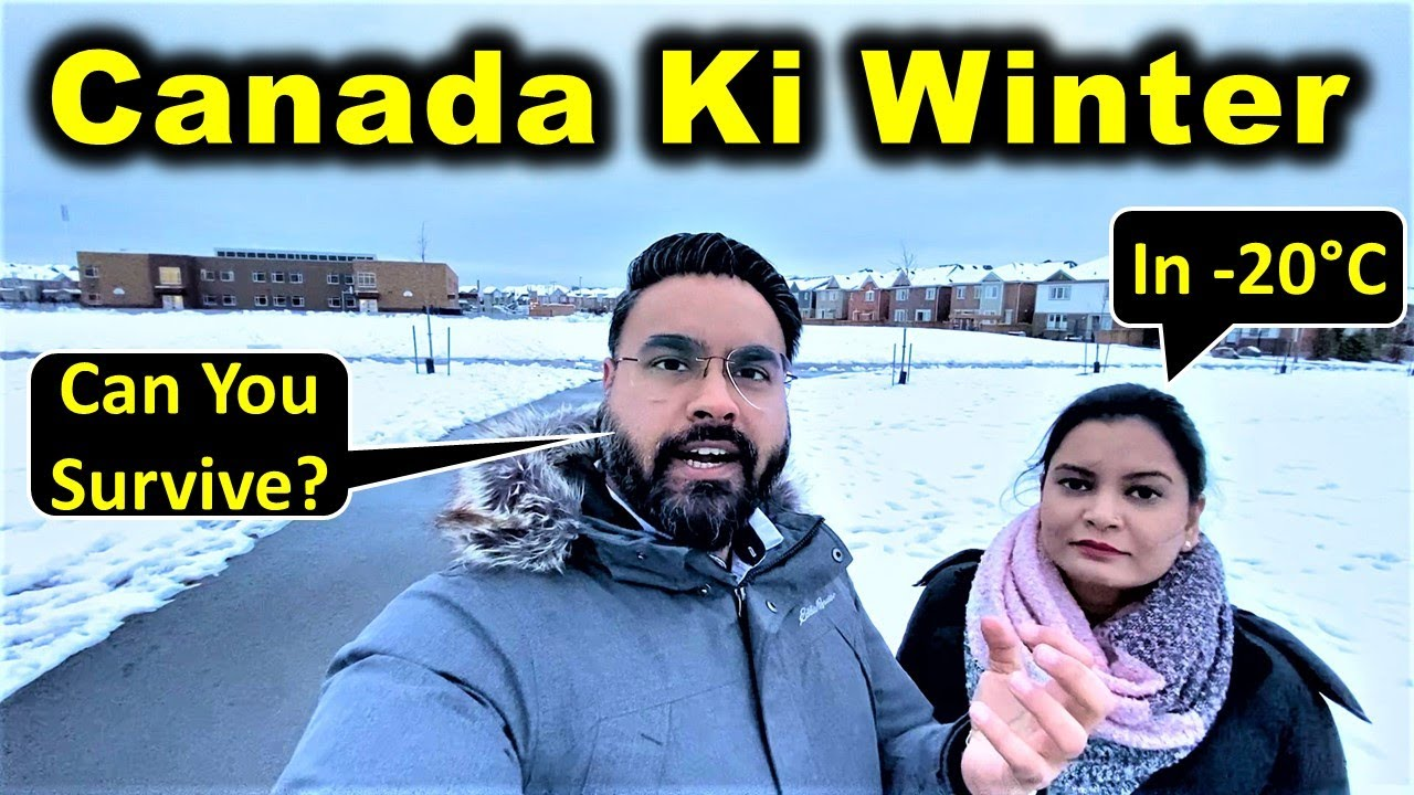 How To Survive In Canada Winter 🥶 | Winter Shopping Tips & Tricks | Canada Couple Vlogs