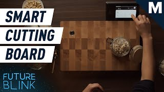 Track Your Food With This Scanning, Weight-Sensing Cooking Board | Future Blink