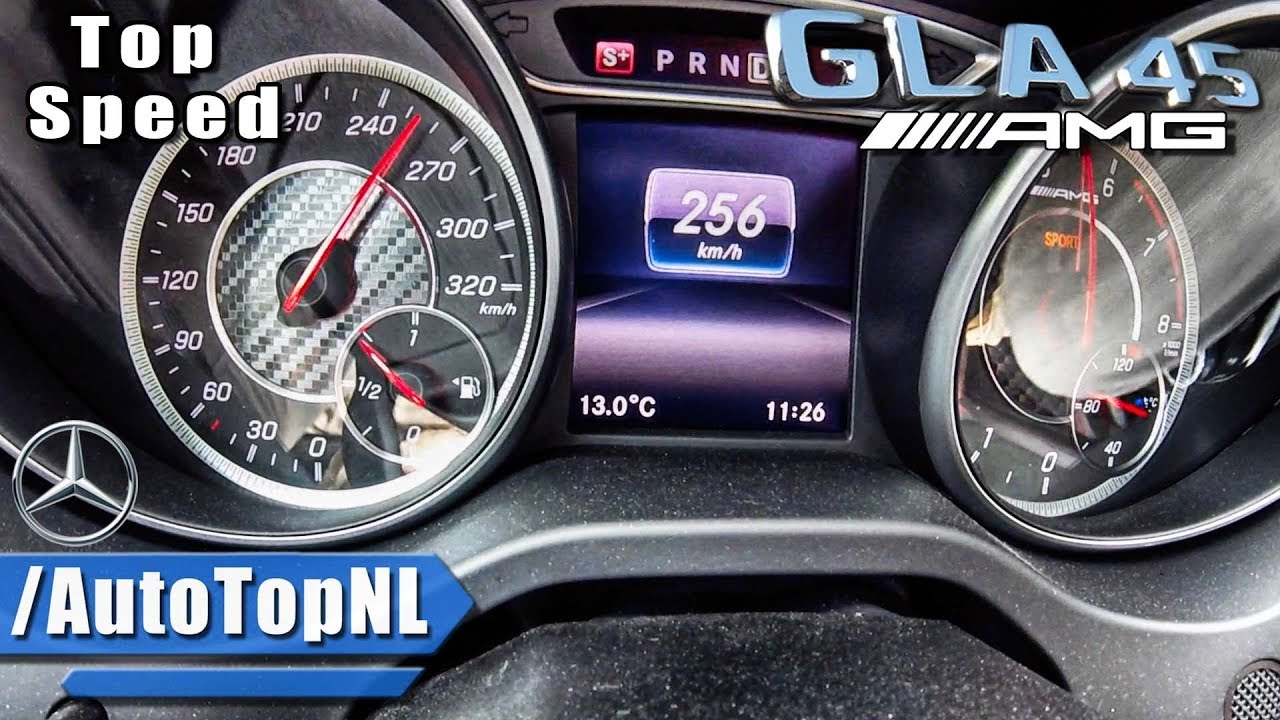 2018 mercedes gla 45 amg acceleration top speed 0 250km h by autotopnl youtube. Black Bedroom Furniture Sets. Home Design Ideas