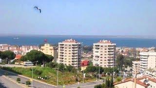 Красивые панорамы Измира. TURKEY. IZMIR. NARLIDERE.(Район Измира, в котором мы проживали, Нарлыдере. Прогулка по району, панорамы Измира с балкона нашей квартир..., 2013-03-28T00:25:47.000Z)