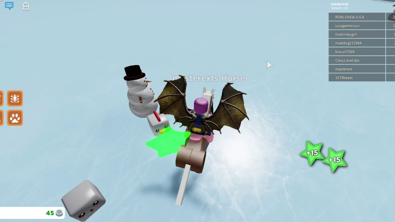 Roblox Horse Riding Simulator 2 First Section Of Horses Done